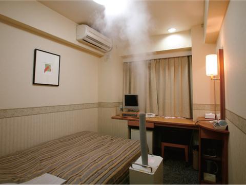 ホテルの客室に